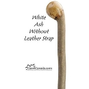 White Ash Root Knob walking stick