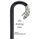 Discounted Roaring Lion Alpacca Cap Crook Cane - missing one eye
