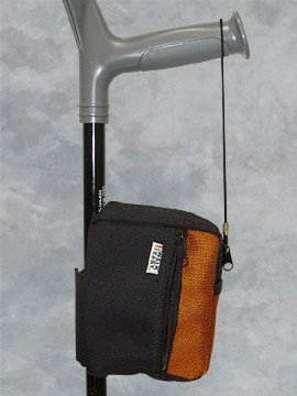 B02B - Forearm Crutch Bag in Blue