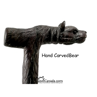 Hand Carved Bear - Collector's Piece