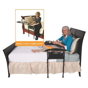 Stander Independence Bed Table & Rail