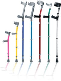 Anatomical Forearm Crutches - Pairs - by Walk Easy