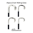 Alpacca Crook Walking Cane