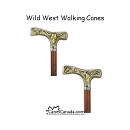 Wild West Fritz Walking Canes