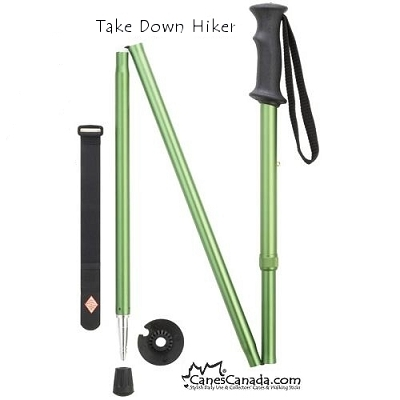 Discounted Green Take Down Adjustable Hiker - scratch in metal paint