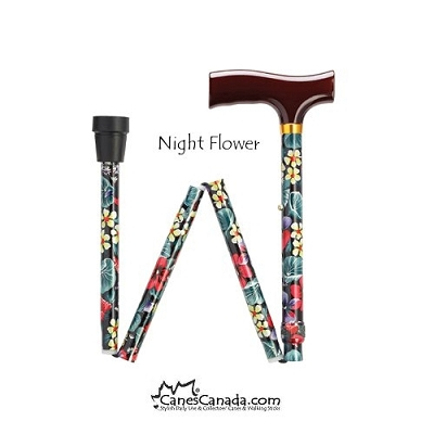 Discounted Night Flowers Fritz Folding - scratches/dent in wood handle