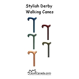 Stylish Colour Derby Cane