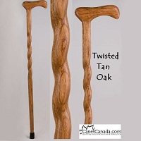 Twisted Oak Cane