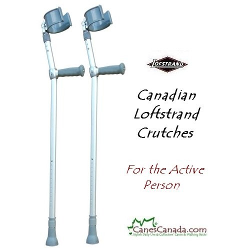 Loftstrand Forearm Crutches - Adult and Child
