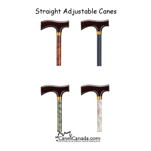 Straight Adjustable Canes