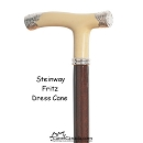Discounted Steinway Fritz Dress Cane - handle imperfections