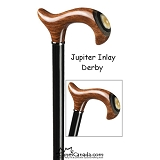 Jupiter Derby Cane with Inlay
