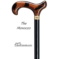 Morocco Derby Walking Cane