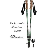 BACKCOUNTRY COLLAPSIBLE ALUMINUM HIKERS