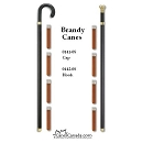 Brandy flask canes