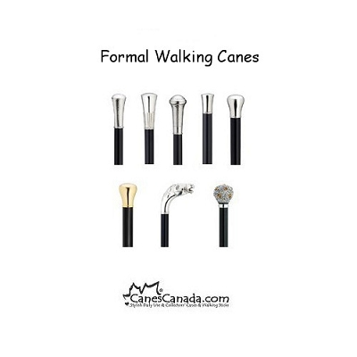 Alpacca Silver Formal Walking Canes
