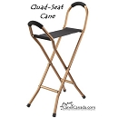 The Quad Seat Cane
