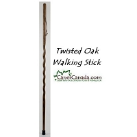 Backpacker Twisted Oak Hiking Stick