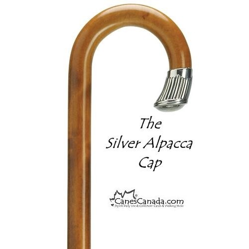 Alpacca Nose Cap Crook Cane