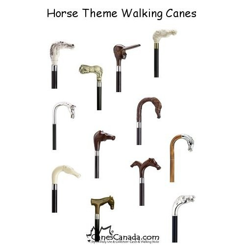 Horse Head Walking Canes